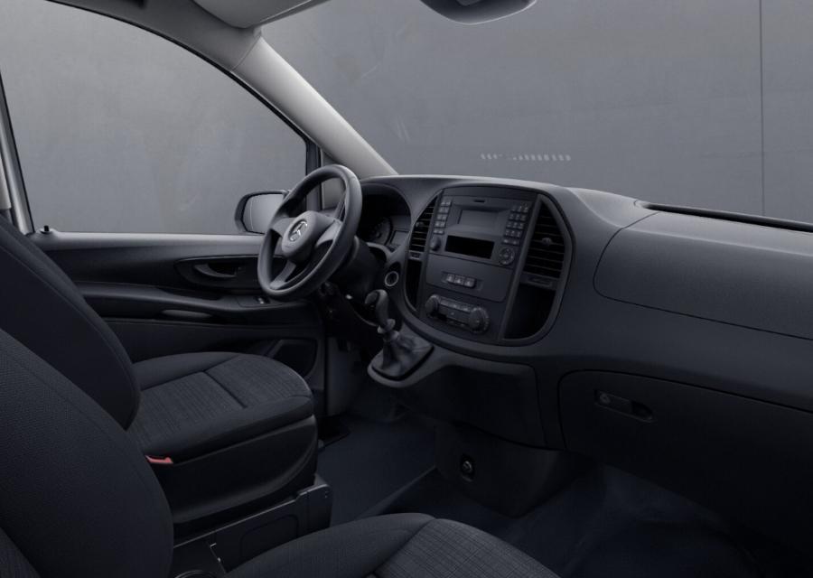 Mercedes Benz Vito Cargo front seat