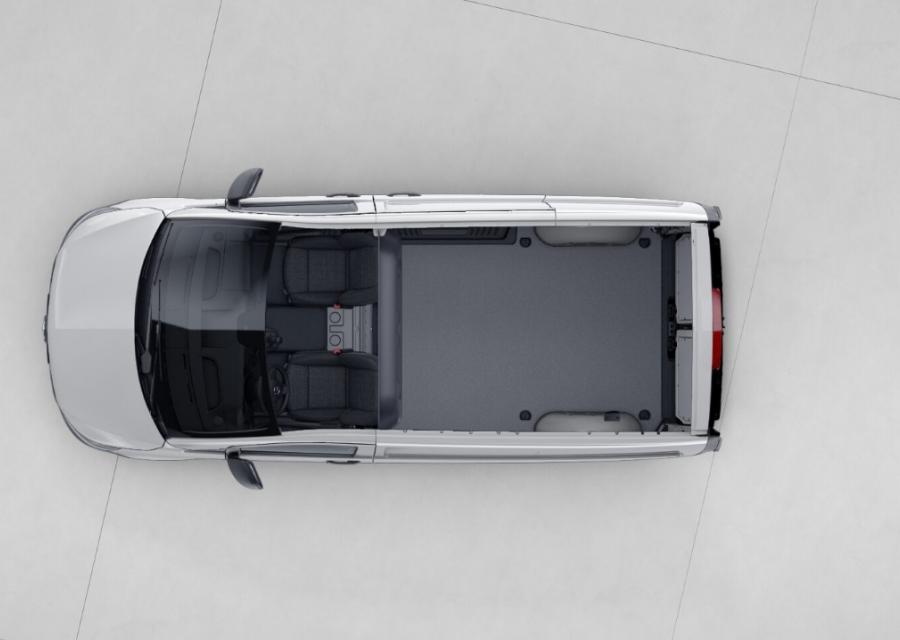 Mercedes Benz Vito Cargo top view
