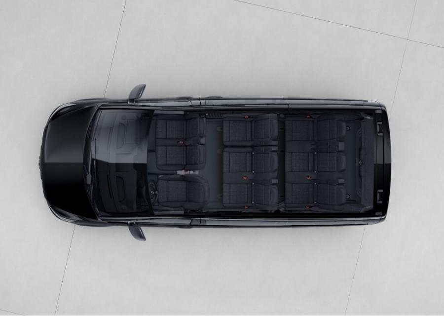 Mercedes Benz Vito Tourer vista de carga