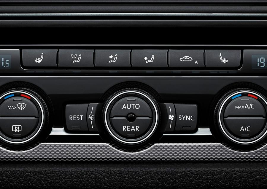 Volkswagen Caravelle climatizador