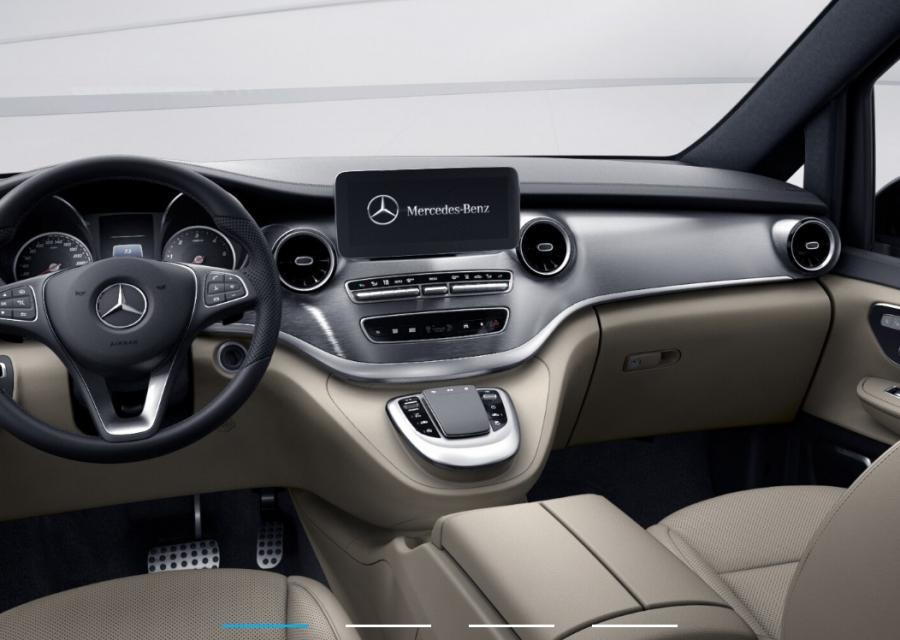 Alquilar Mercedes-Benz Clase V Exclusive plazas delanteras