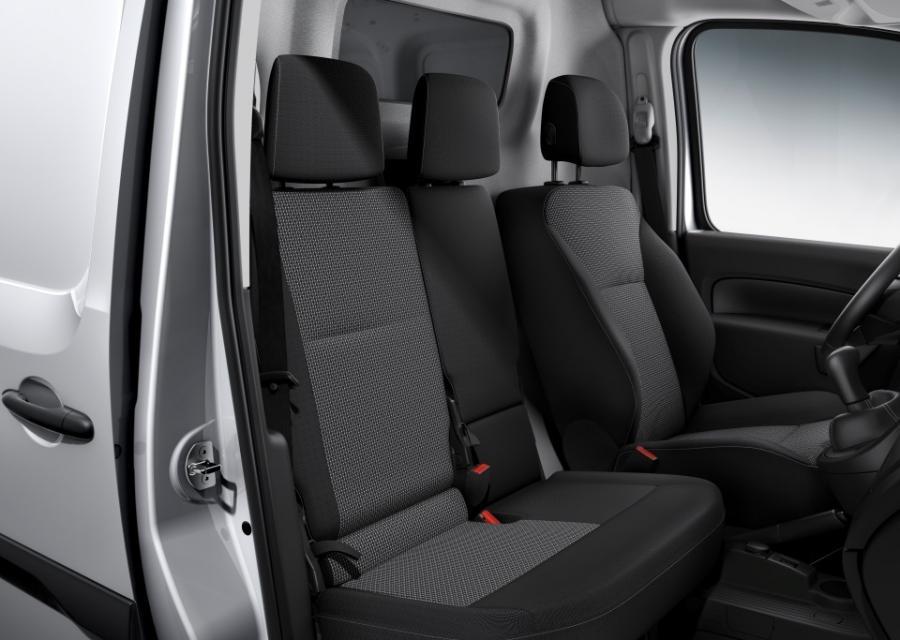 Mercedes Citan asientos delanteros