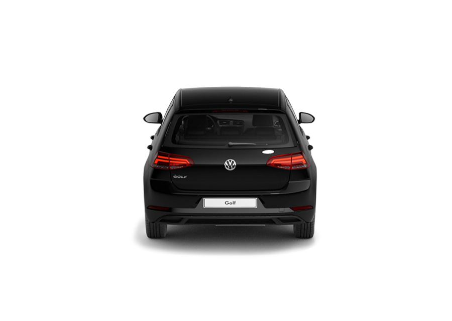 VW Golf trasero