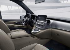 Alquilar Mercedes-Benz Clase V Exclusive vista interior