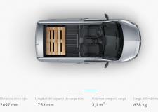 Mercedes Citan espacio de carga