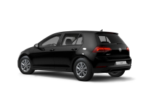 VW Golf trasero izquierdo